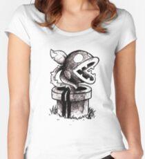 Piranha Women's Fitted Scoop T-Shirt