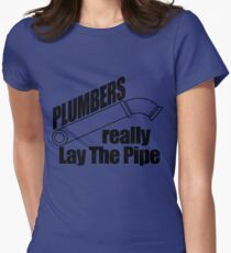 Plumbers Really Womens Fitted T-Shirt