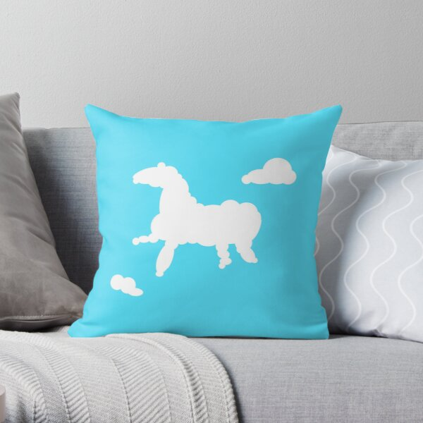 Let's Watch the Clouds Throw Pillow