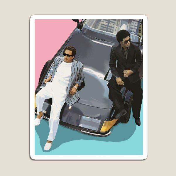 Miami Vice Magnet