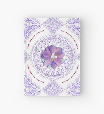 Victorian Flowers Hardcover Journal