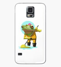 Custodial Engineer Frogrick Croaker Case/Skin for Samsung Galaxy