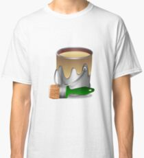 Paint bucket and Brush Classic T-Shirt