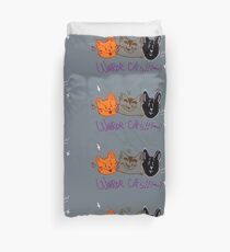 Warrior Cats - The Original Trio Duvet Cover