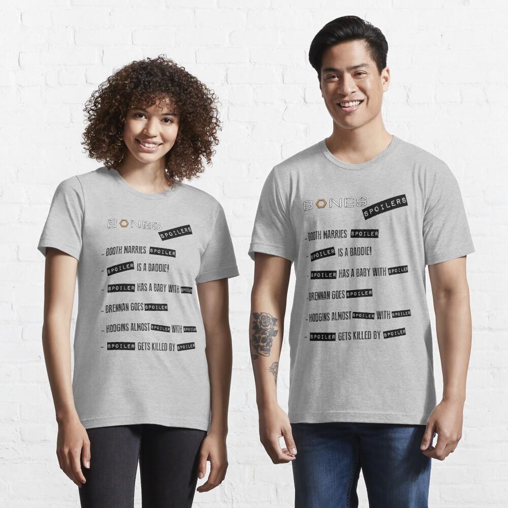 Bones Spoilers Essential T-Shirt