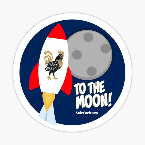 To The Moon! Sticker