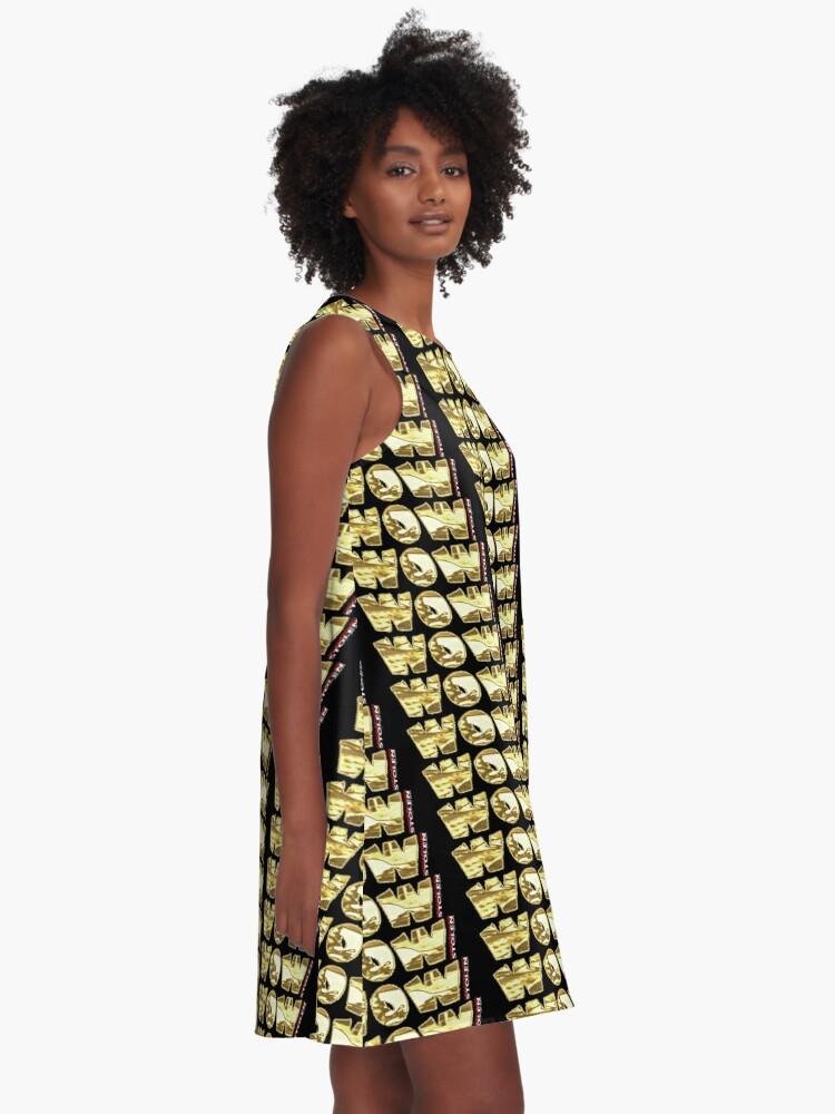 Alternate view of WOW!  by STOLEN underground A-Line Dress