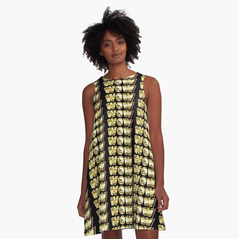 WOW!  by STOLEN underground A-Line Dress
