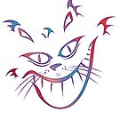 Crazy Cheshire Cat Grin by tinymystic