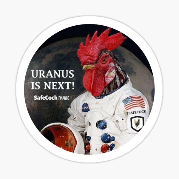 Uranus is Next! Sticker