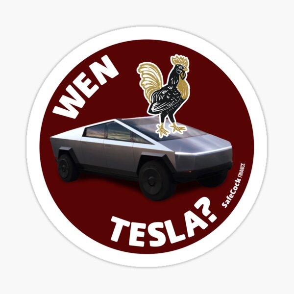 Wen Tesla? Sticker