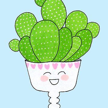 Cute Succulent I by JenniferCharlee