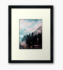 The Juxtaposed Creation #redbubble #lifetstyle Framed Print
