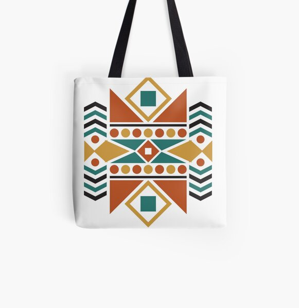 Earth Aztec All Over Print Tote Bag