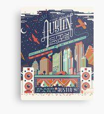 Austin City Limits Metal Print