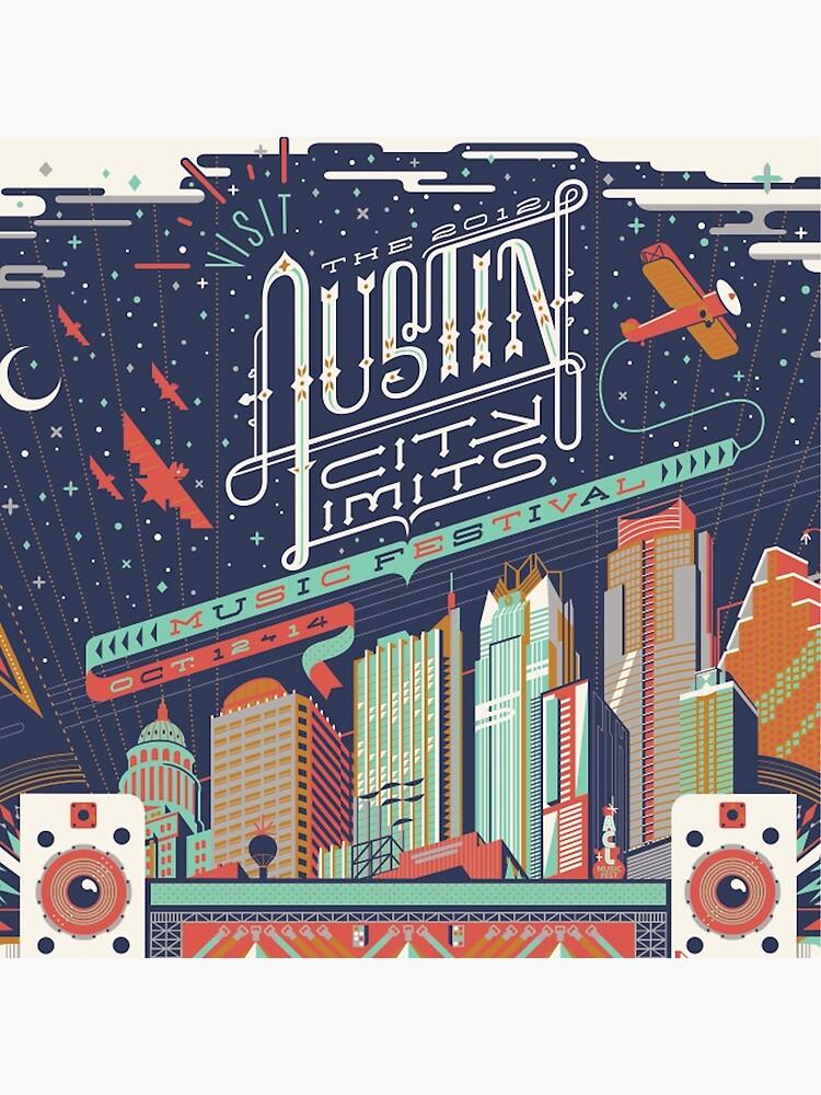 Austin City Grenzen von nikkitra