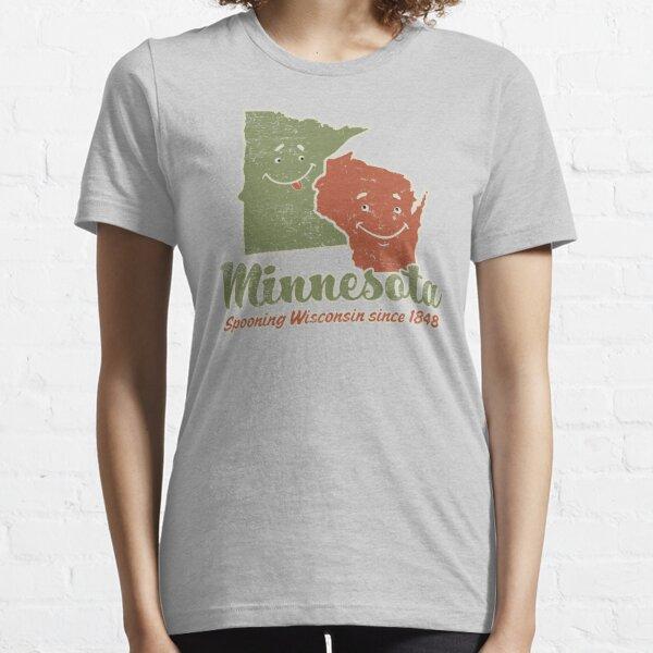 Minnesota Spooning Wisconsin Essential T-Shirt