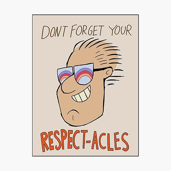 Respectacles Photographic Print