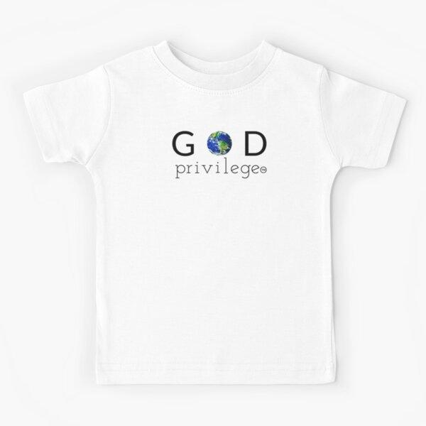 GOD PRIVILEGE Kids T-Shirt