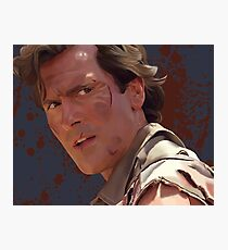 Groovy Ash - Army of Darkness Photographic Print
