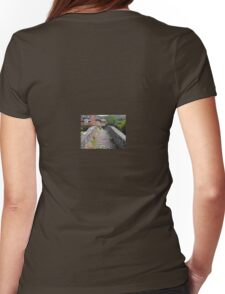 My England. Packhorse Bridge at Allerford, Somerset Womens Fitted T-Shirt
