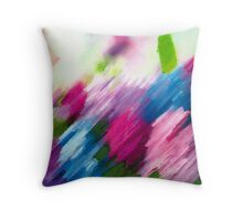 Mk Abstract Throw Pillow