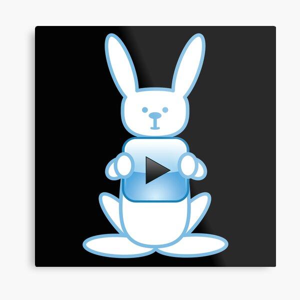 Play Bunny Play Metal Print