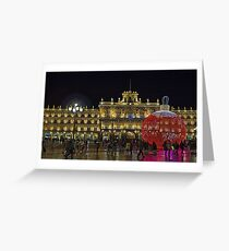 Plaza Mayor, Salamanca. Spain Greeting Card