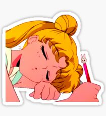 Sleepy Usagi Sticker