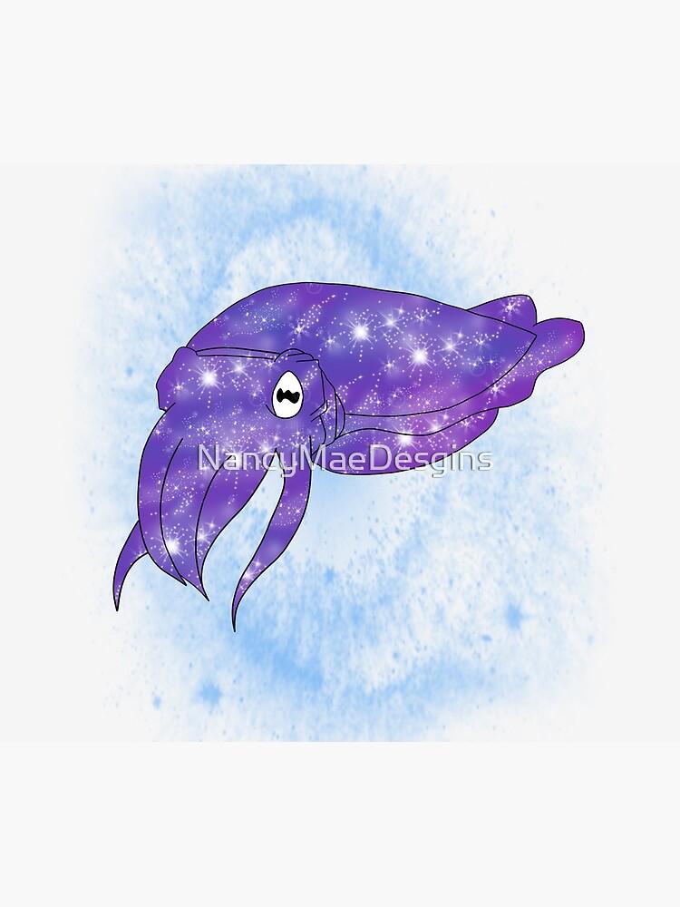 Galaxy Cuttlefish by NancyMaeDesgins