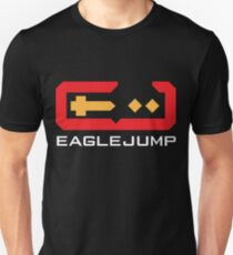 Eagle Jump - White T-Shirt