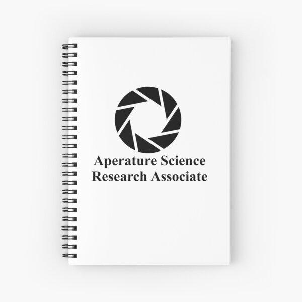 Aperature Science Research Associate Spiral Notebook