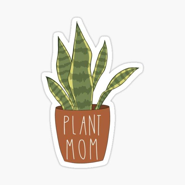 Plant Mom Sticker