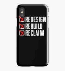 Seth Rollins - Redesign Rebuild Reclaim iPhone Case/Skin