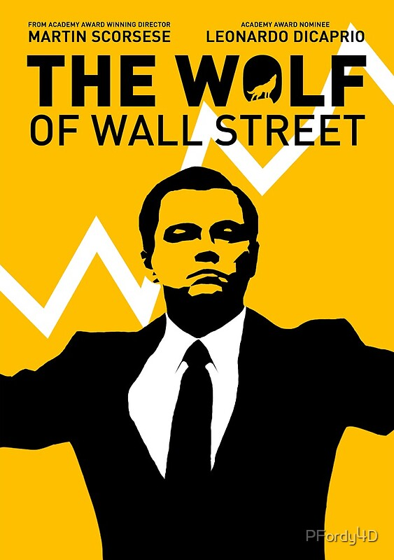The Wolf of Wall Street: Posters | Redbubble