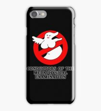 Conductors of the Metaphysical Examination iPhone Case/Skin