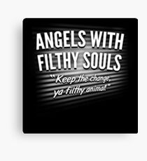 Angels With Filthy Souls Canvas Print