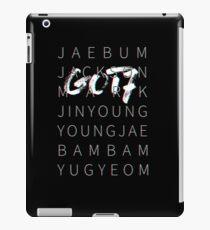 GOT7 3D Tee Black Ver iPad Case/Skin