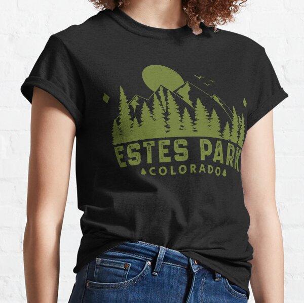 Estes Park Colorado Mountain View Classic T-Shirt