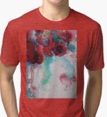 Poppies Tri-blend T-Shirt