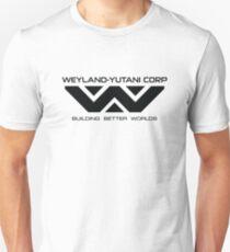 Weyland Yutani - Black Logo T-Shirt