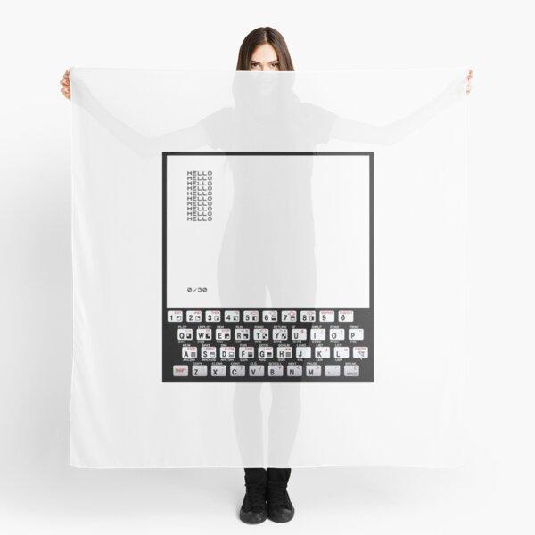 ZX81 Classic PC Scarf