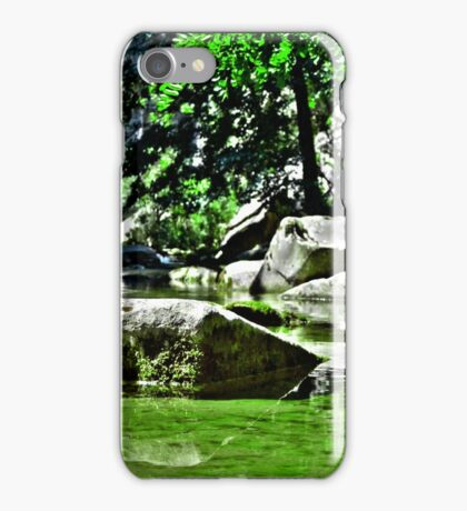 Green Mirror iPhone Case/Skin