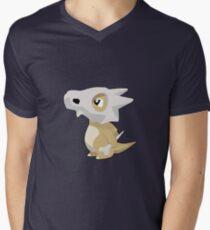 Cubone with Outline Men's V-Neck T-Shirt