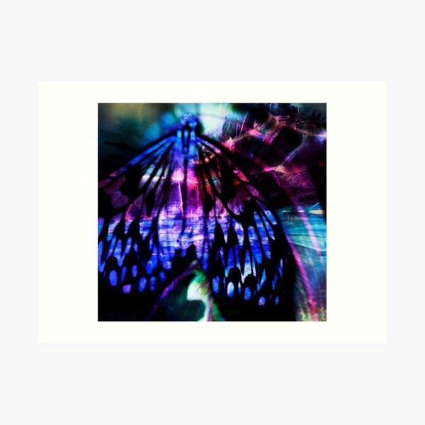 Digital Butterfly 4 Art Print