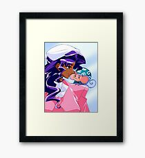 Anthy and Chuchu Framed Print