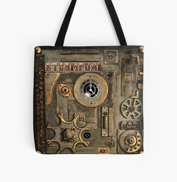 steampunk Mechanism All Over Print Tote Bag