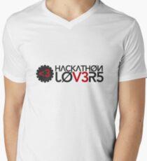 Hackathon Lovers Men's V-Neck T-Shirt