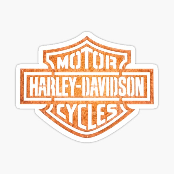 Motorcicles Harley Davidson  Sticker