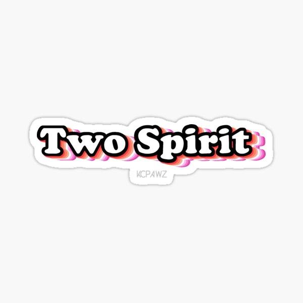 Two Spirit - Lesbian Sticker